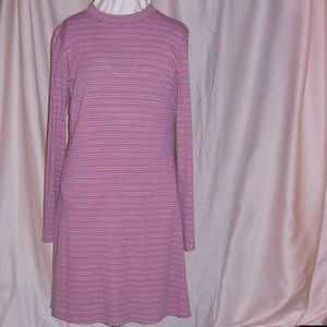 Love Fire Dusty Rose Pink Knit Dress NWT Large